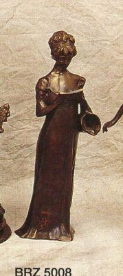 BRZ5008 - Reading Lady, Bronze