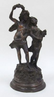 BRZ5016 - Young Lovers, Bronze