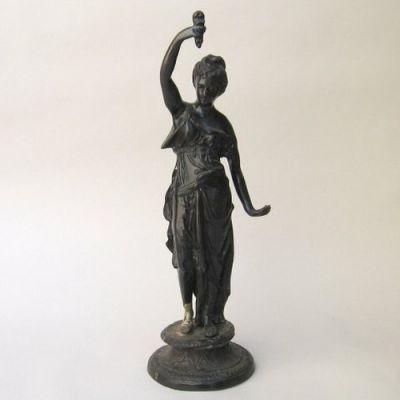 BRZ5026 - Antique Bronze Statue