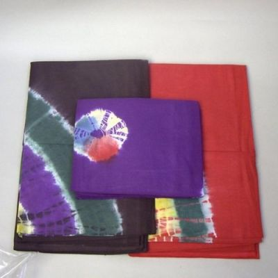 IB221 - Bedspread, Tie Dye Single, Assorted Colors
