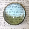 BR484408 - Table Magnifying Glass Paper Weight