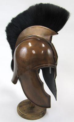 IR80421 - Trojan Plumed Helmet, Copper Colored