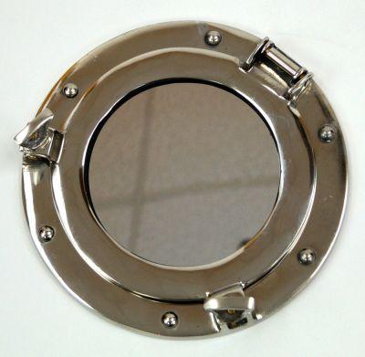 """MR 4860 - VC - 9"""" Round Mirror Porthole Aluminum"""