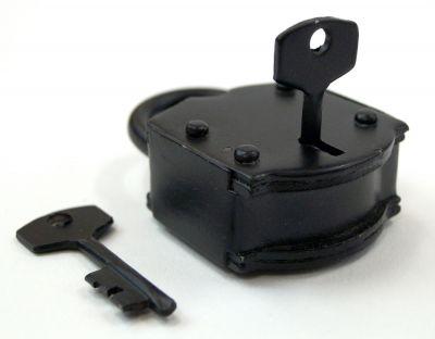 IR80101A - Antique Iron Lock, Heavy Duty